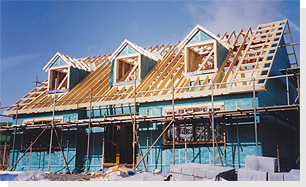 Self Build Timber Frame packages west Wales